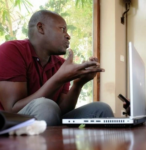 L'écrivain sénégalais Said Mouhamed Ba