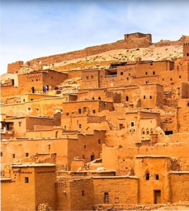 Le ksar d'Aït-ben-Haddou (Maroc) classé au patrimoine mondial de l'Unesco
