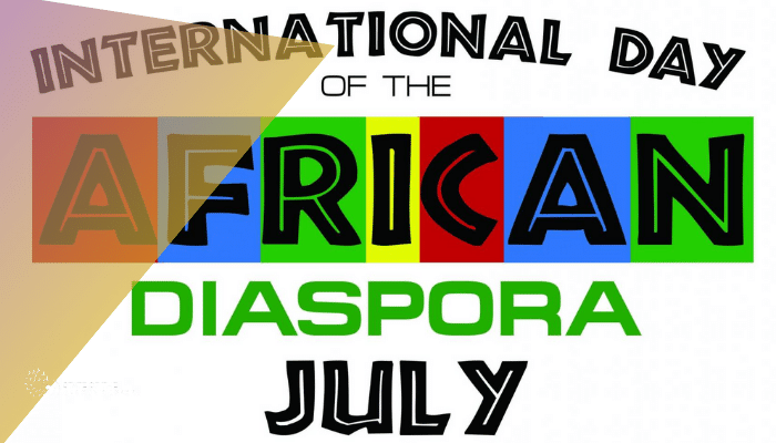 Affiche Journée Internationale de la Diaspora Africaine