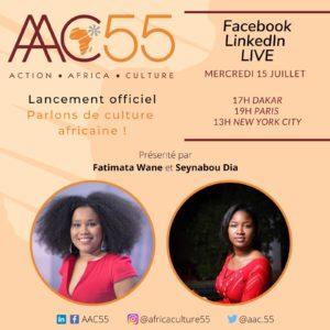 Affiche du lancement officiel de AAC55