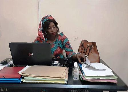 Aminata Doumbouya, à FATCOM