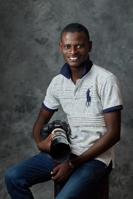 L'artiste photographe Joannès Mawuna