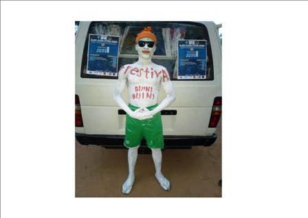 Mascotte du festival Bijini-Bijini