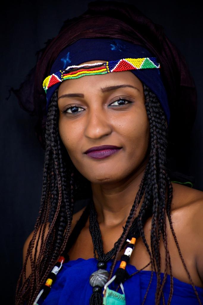 L'artiste Fatouma Akiné