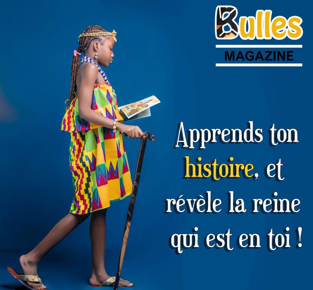 Affiche pour Bulles Magazine