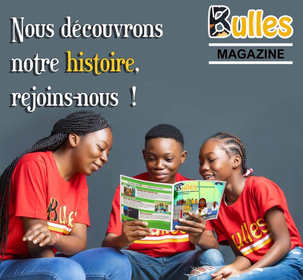 Couverture d'un numéro de Bulles Magazine