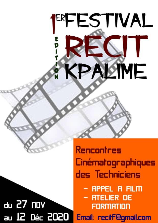 Affiche de la 1ère édition du festival RECIT