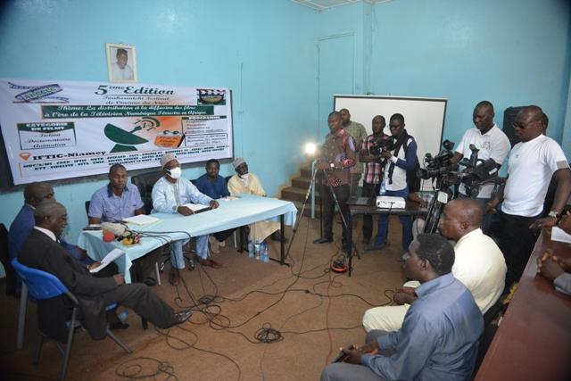 Lors du lancement de la 5ème édition de Toukountchi festival de cinéma du Niger