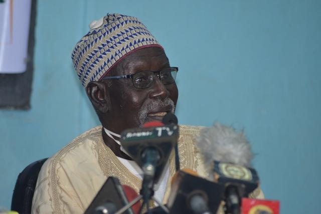M. Moussa Hamidou, premier nigérien ingénieur de son